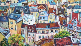 Paris Roofs N2