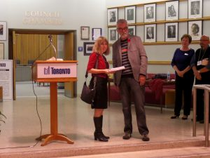Award Ceremony at ETOBICOKE CIVIC CENTRE ART GALLERY