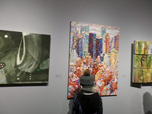 My painting in the Art Gallery of Missassauga