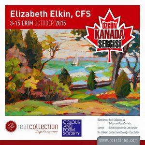 Landscape by Elizabeth Elkin